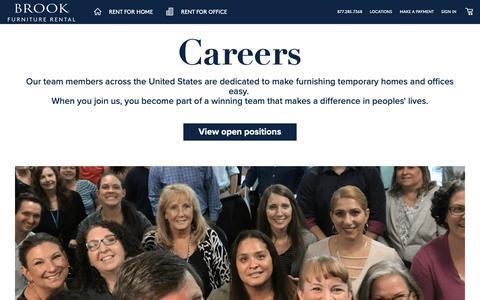 Screenshot of Jobs Page bfr.com captured Jan. 23, 2019