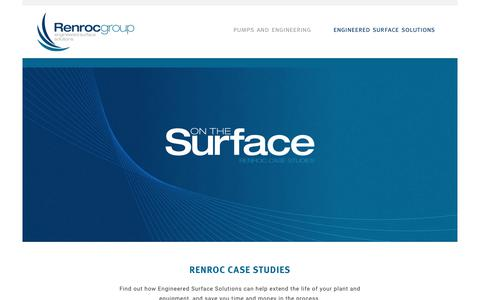 Screenshot of Case Studies Page renrocgroup.com - Case Studies - Renroc - captured Dec. 21, 2018