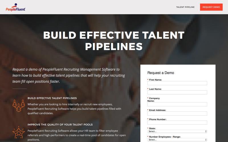 Talent Pipeline | PeopleFluent