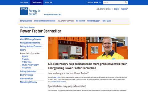 AGL - Power Factor Correction