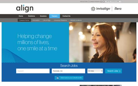Working at Align Technology Inc