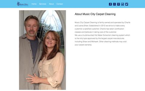About – Music City Carpet Cleaning