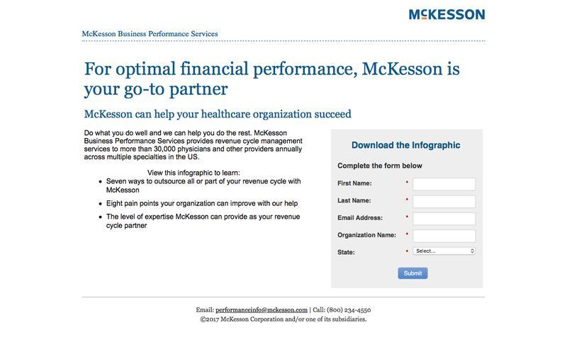 McKesson   Revenue Cycle Management