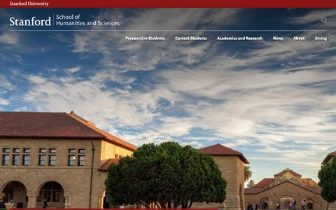 Discover academic freedom | Stanford Humanities and Science