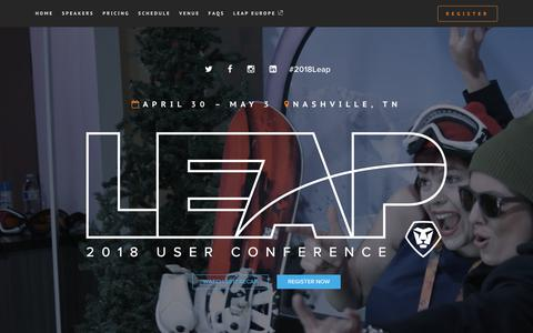 LEAP 2018 | Workfront Conference