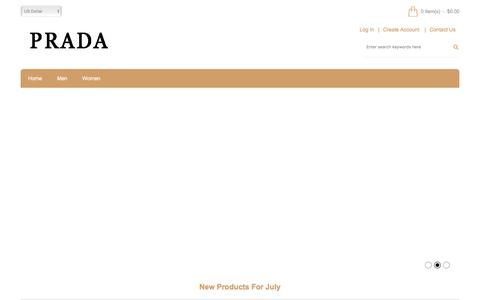 Screenshot of Home Page epassion-corp.com - Shop Prada Bags Enjoy Fast Delivery, Cheap Prada Shoes Sale Online - captured July 6, 2017