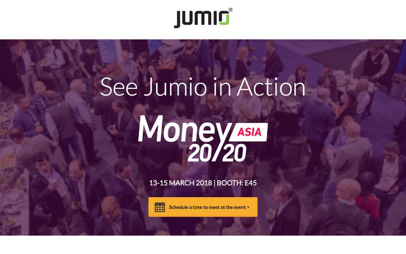 See Jumio in Action at Money2020 Asia 2018