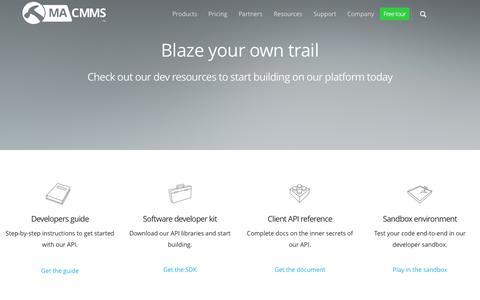 Screenshot of Developers Page maintenanceassistant.com - Maintenance Assistant Labs | Maintenance Assistant - captured Sept. 10, 2016