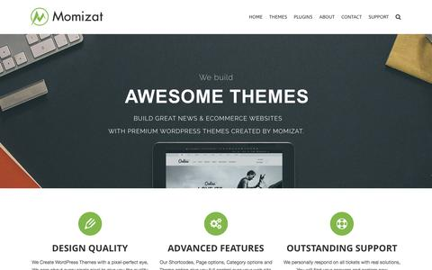 Momizat Premium WordPress Themes