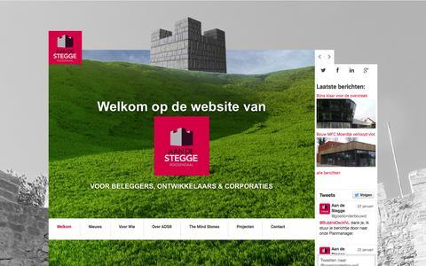Screenshot of Home Page adsr.nl - ADSR | Goed Onderbouwd - captured Jan. 23, 2015