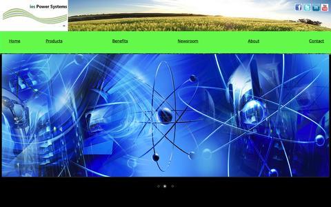 Screenshot of Press Page iespowersystems.com - ies Power Systems-Newsroom - captured Sept. 30, 2014