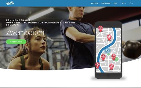 OneFit - Sporten bij honderden gym's en studio's in jouw stad