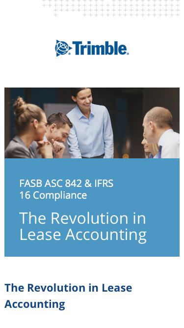 FASB/IASB - The Revolution in Lease Accounting
