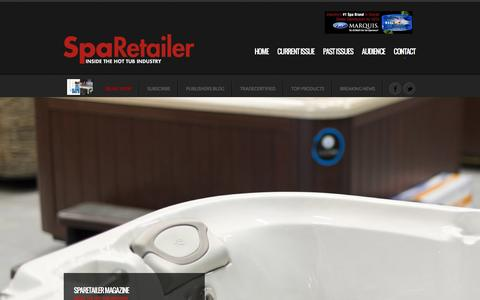 Screenshot of Privacy Page Contact Page sparetailer.com - SpaRetailer Magazine. INSIDE THE HOT TUB INDUSTRY - captured July 2, 2016
