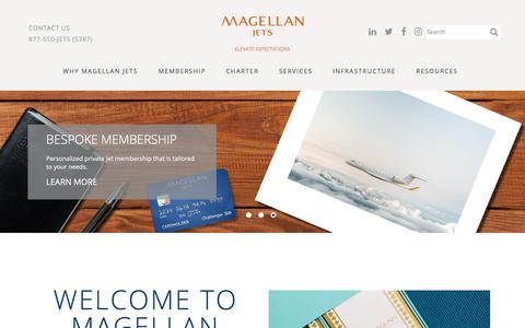 Welcome to Magellan Jets | Magellan Jets