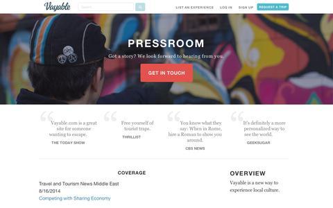 Media & Press | Vayable