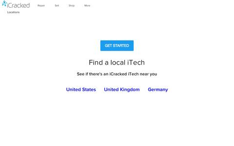 Find a local iCracked iTech in your area