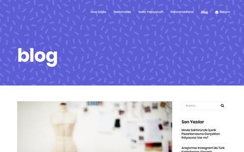 Screenshot of Blog digital-stylist.com - Blog - Digital Stylist - captured Aug. 7, 2018