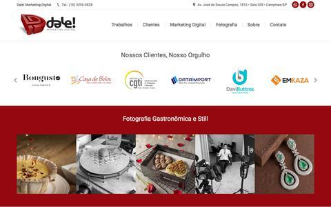 Screenshot of Home Page dalemarketing.com.br - Dale! Agência de Marketing Digital Campinas - captured Aug. 13, 2019