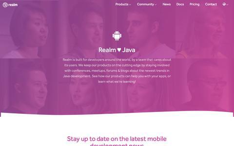 Realm ♥ Java