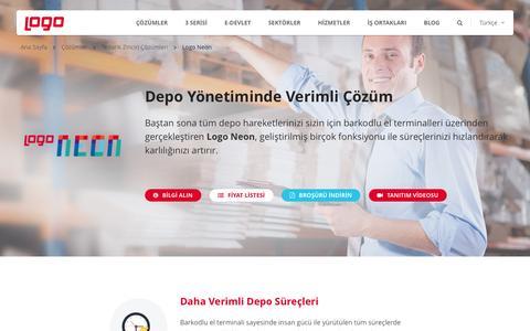 Depo Otomasyonu - Neon | Tedarik Zinciri Çözümleri | Logo