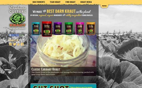 Screenshot of Home Page farmhouseculture.com - Farmhouse Culture - captured Jan. 8, 2016