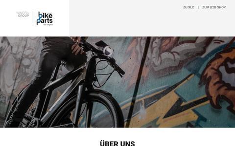 Screenshot of About Page bike-parts.de - Bike-Parts - captured Sept. 22, 2018