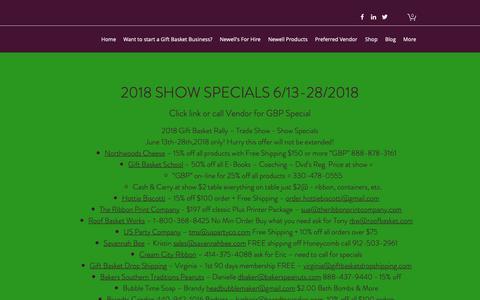 Screenshot of FAQ Page giftbasketprofessional.com - FAQ | GIFT BASKET SCHOOL - captured Sept. 28, 2018