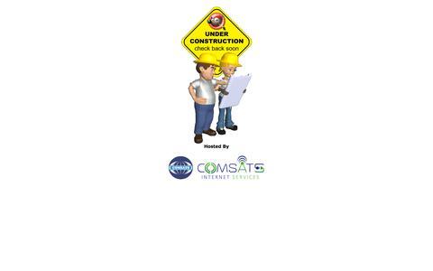 Screenshot of Home Page fatima.com.pk - COMSATS Internet Services - captured Sept. 24, 2018