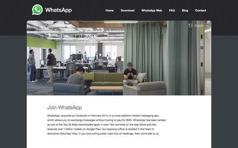 WhatsApp Jobs