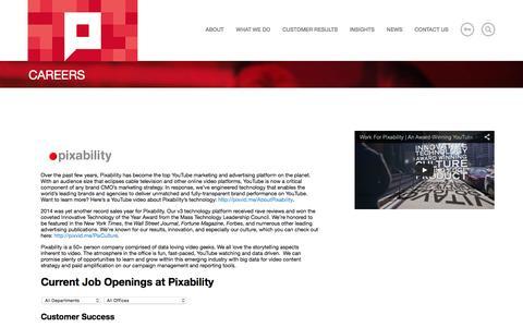 Careers   Pixability Pixability