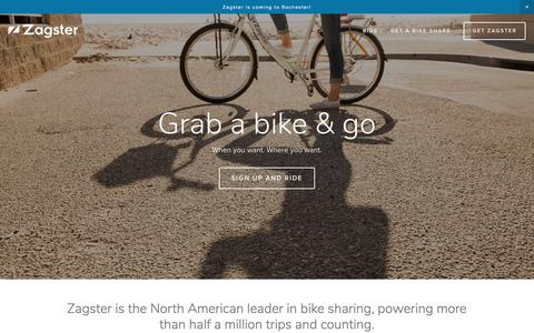 Zagster - Bike Share for Everyone