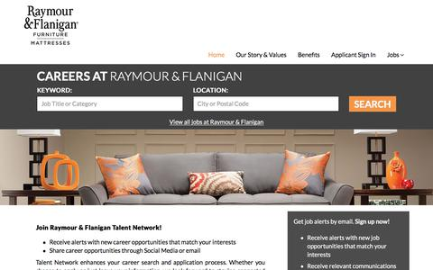 Raymour & Flanigan Talent Network