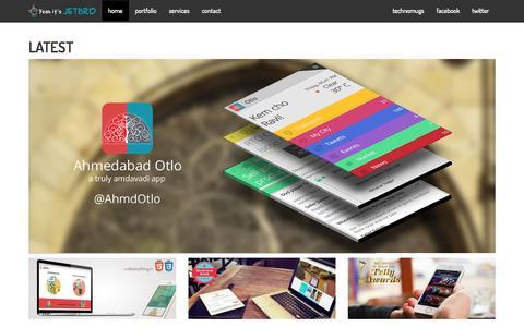 Screenshot of Home Page jetbro.in - Jetbro - captured Sept. 30, 2014