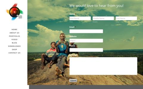 Screenshot of Contact Page magiqlenskenya.com - Welcome to Magiq Lens Kenya | subscribe - captured May 17, 2017