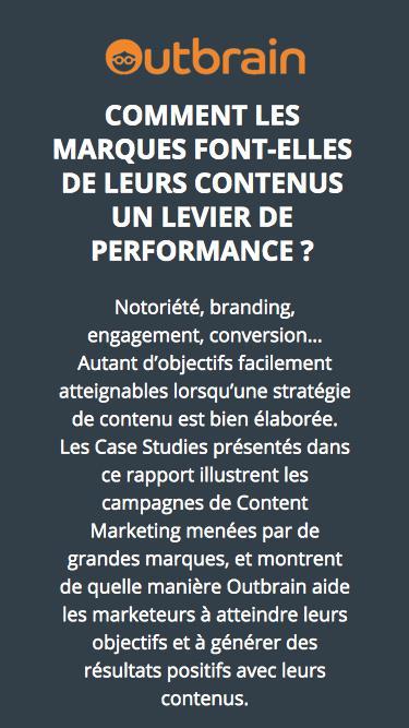 Comment les marques font-elles de leurs contenus un levier de performance