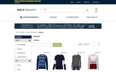 Women's Golf Sweaters | Golf Galaxy