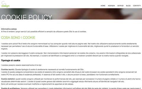 Informativa estesa sui Cookie - C2 design Web Agency