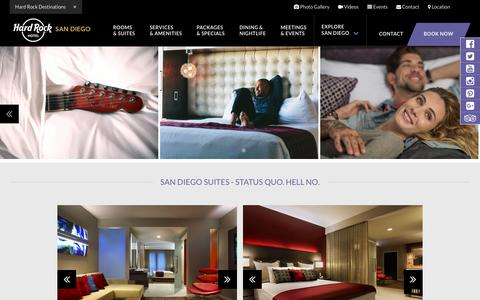San Diego Suites | Luxury San Diego Suites | HARD ROCK HOTEL San Diego Suites
