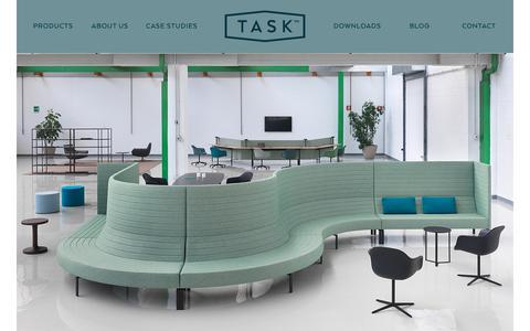 Screenshot of Home Page tasksystems.co.uk - Task | London | Office Furniture | Desking | Seating |  ICF | Marelli - captured Oct. 18, 2018
