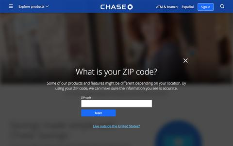 Chase Savings(SM) Account | Savings | Chase.com
