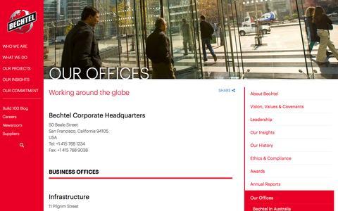 Bechtel Global Offices & Contact Information - Bechtel