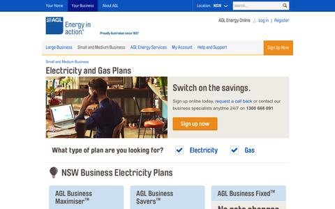 Electricity & Gas Plans for Small & Medium Businesses | AGL