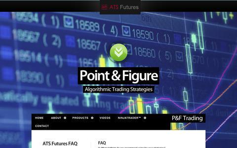 Screenshot of FAQ Page atsfutures.com - ATS Futures Faq - captured Nov. 4, 2014