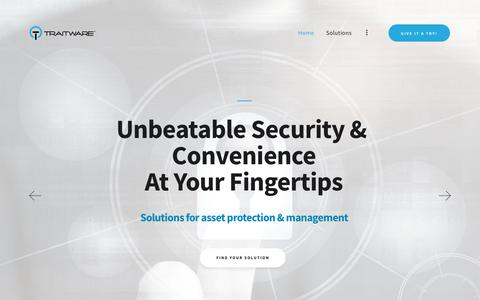 TraitWare – No Passwords Ever – No Passwords Ever With Traitware Enabled Devices
