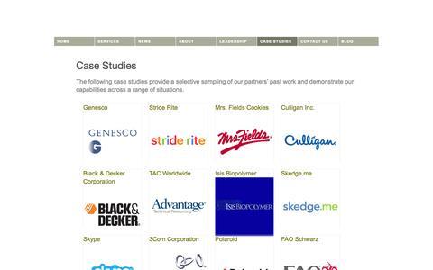 Screenshot of Case Studies Page eaglepointadvisors.com - Case Studies | Eaglepoint Advisors - captured Sept. 30, 2014