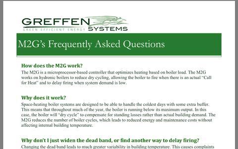 Screenshot of FAQ Page greffensys.com captured Oct. 3, 2014