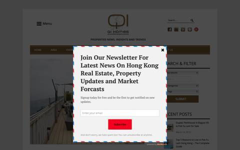 Screenshot of Blog qi-homes.com - Property Sale | News | Real Estate Insight | Market Forcast - Qi-Homes - captured March 23, 2019