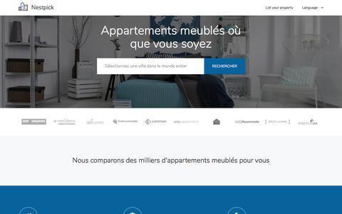 Appartements meublés - Cherchez, Comparez & Louez   Nestpick