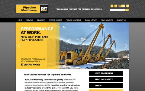 Pipeline Construction Equipment by PipeLine Machinery International